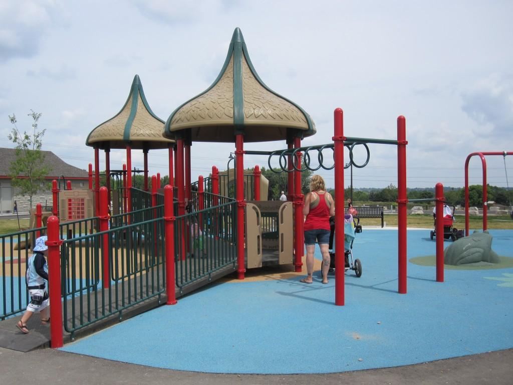 McLennan Park Kitchener, littles playground kitchener
