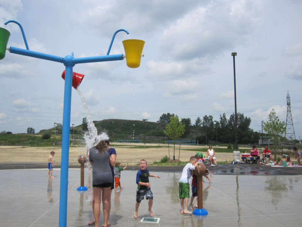 McLennan Park Kitchener, playground kitchener, splash pad kitchener, splash park