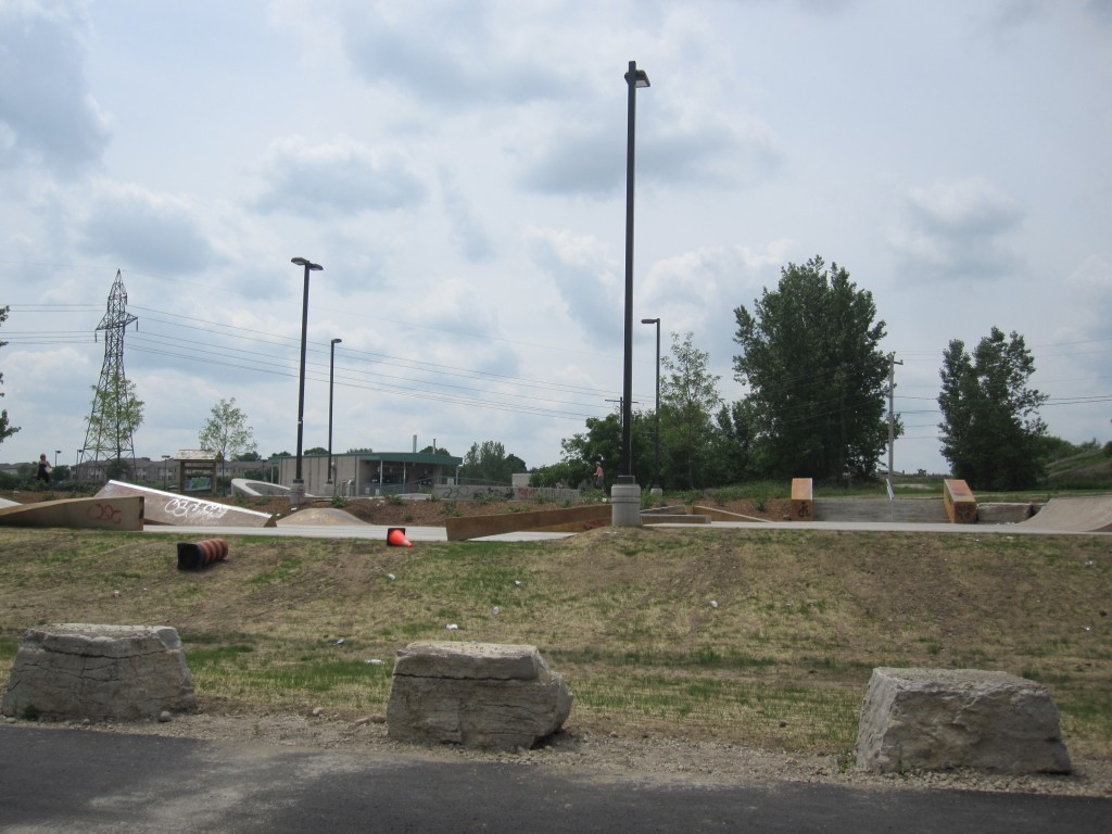 McLennan Park Kitchener, playground kitchener, skate park