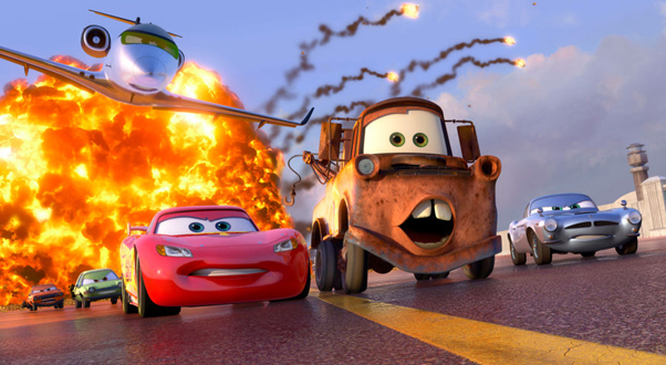 Cars 2, Cars 2 review, Mom's view of Cars 2, Child's view of Cars 2, Cars 2 too violent, violence in kid's movies