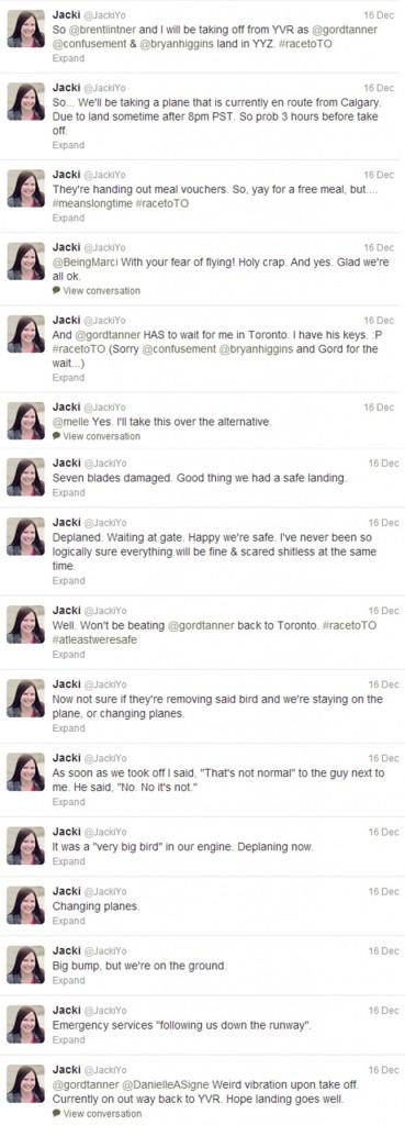 a plane tweet combined