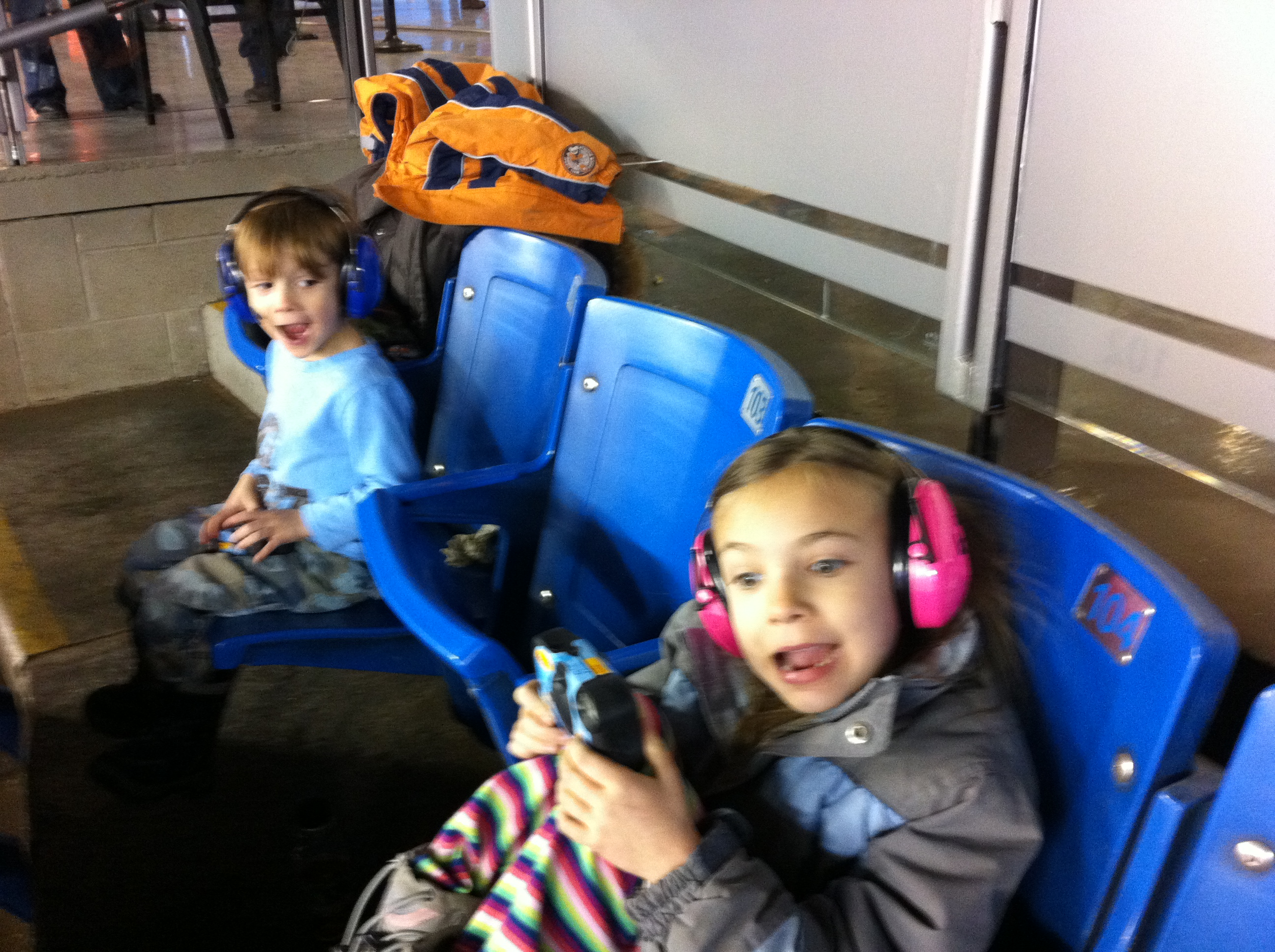 Kids at Monster Jam Toronto