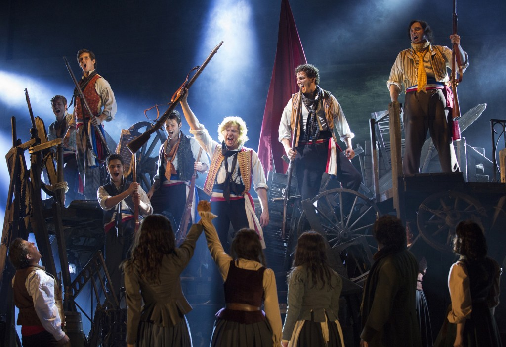 Les Misérables Toronto cast 2013. Photo Credit: Cylla von Tiedemann
