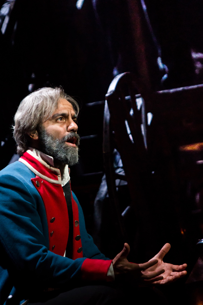 Ramin Karimloo as Jean Valjean – Les Misérables Toronto 2013. Photo Credit: Matthew Murphy