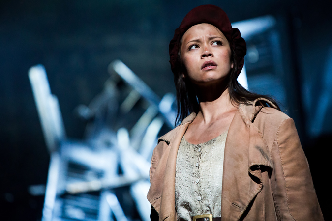 Melissa O'Neil as Éponine – Les Misérables Toronto 2013. Photo Credit: Matthew Murphy